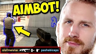 OLOFMEISTER Z AIMBOTEM! - CS:GO FUNNY MOMENTS