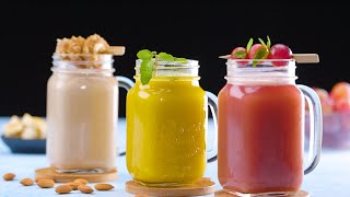 #Shorts: Healthy Drink Recipe | Almond & Coconut Smoothie | Ginger, Coconut Water, Haldi & More!