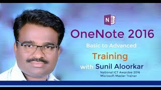 OneNote 2016 in Hindi - 2. Touring to OneNote 2016