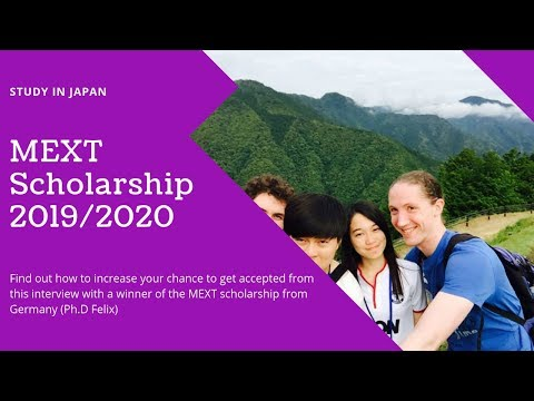 [Eng] MEXT Scholarship Student from Germany: How to increase your chance to get selected?