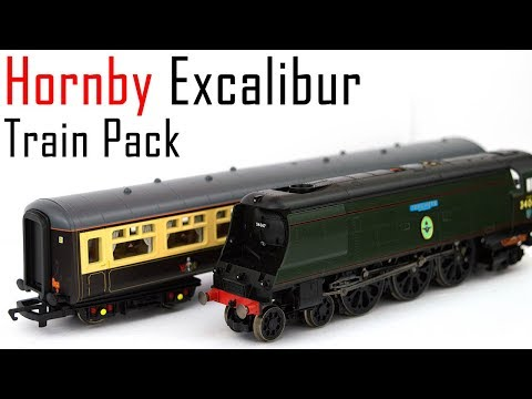 Unboxing the Hornby Excalibur Express Train Pack
