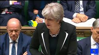 PMQs 15/11/17 Corbyn vs May: universal credit cuts. NHS crisis and police funding