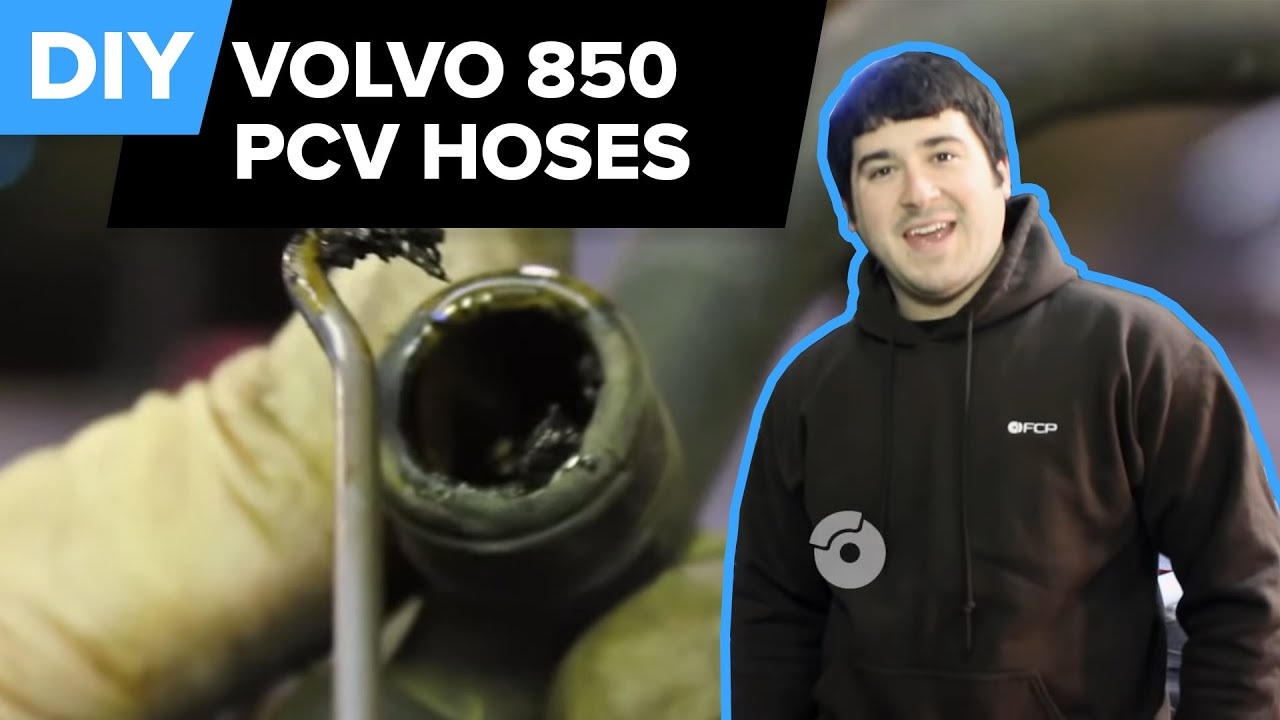 Volvo Pcv Breather System Replacement 850 Turbo Fcp Euro