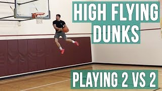 360 Windmill Dunk & More | 2 VS 2 Basketball Game