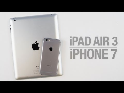 iPhone 7 Dual-Lens Camera and iPad Air 3 Design Changes