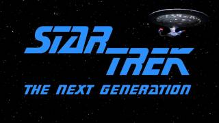 Star Trek The Next Generation - Main Theme (Season 1)