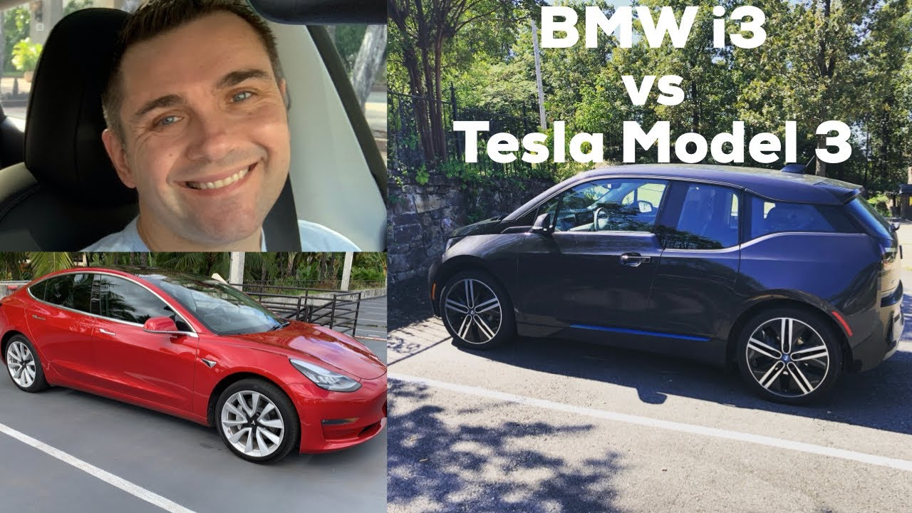 Bmw I3 Vs Tesla Model 3 Electric Vehicle Showdown