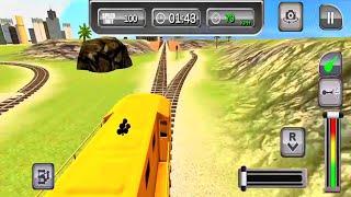 train simulator 2021 gameplay #4-Car games Android IOS gameplay ጌም ጨዋታ screenshot 3