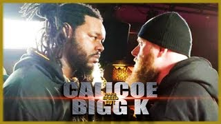 CALICOE VS BIGG K RAP BATTLE - RBE