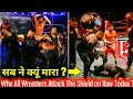 Why All Wrestlers Attack Shield today in Raw ! WWE Raw 3 September 2018 hindi highlights