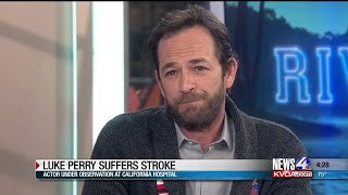Luke Perry hospitalized and 'under observation', publicist says