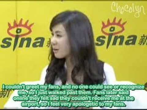[ENGSUB] 2008.05.07 Sina Exclusive - Zhang Li Yin (Part 2)