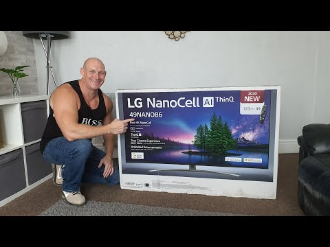 2020 LG NanoCell NANO86 unboxing,setup & demo,ANY GOOD?