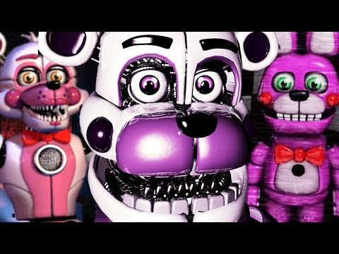 THE FUNTIME ANIMATRONICS RETURN || FNAF The Return To Funtime Freddys (Five Nights at Freddys)