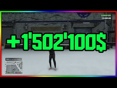 GTA 5 ONLINE SOLO MONEY TRICK | 1.5 MILLION IN 4MIN | GERMAN