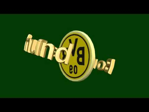 bvb logo animiert borussia dortmund green screen chroma key youtube. Black Bedroom Furniture Sets. Home Design Ideas