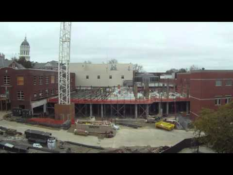 Lafferre Hall Renovation: Winter Break 2015/16 Timelapse