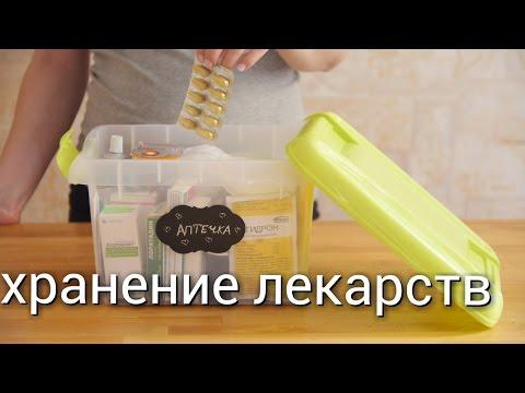 организация и хранение лекарств дома