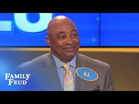Chill baby, it's a TANDEM | Family Feud