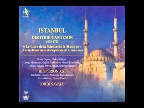 ISTANBUL. DİMİTRİE CANTEMİR  Der makām-ı Hüseynī Semâ'î (Mss. D.Cantemir 268)