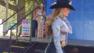 Speech at 2019 Miss Rodeo Oregon Pageant with Taylor Skramstad