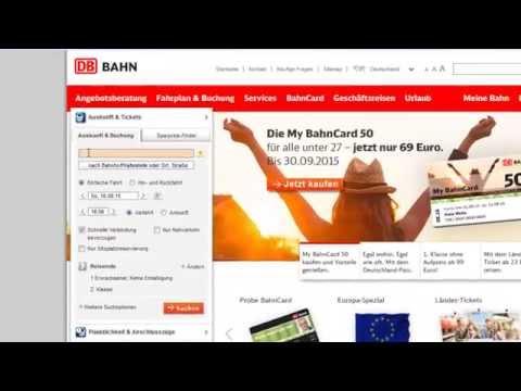 DB Online Ticket