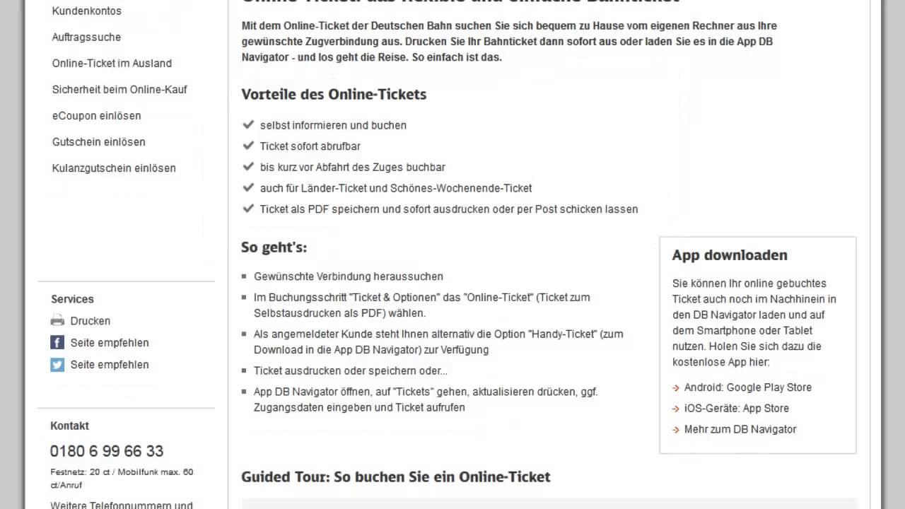 db tickets buchen