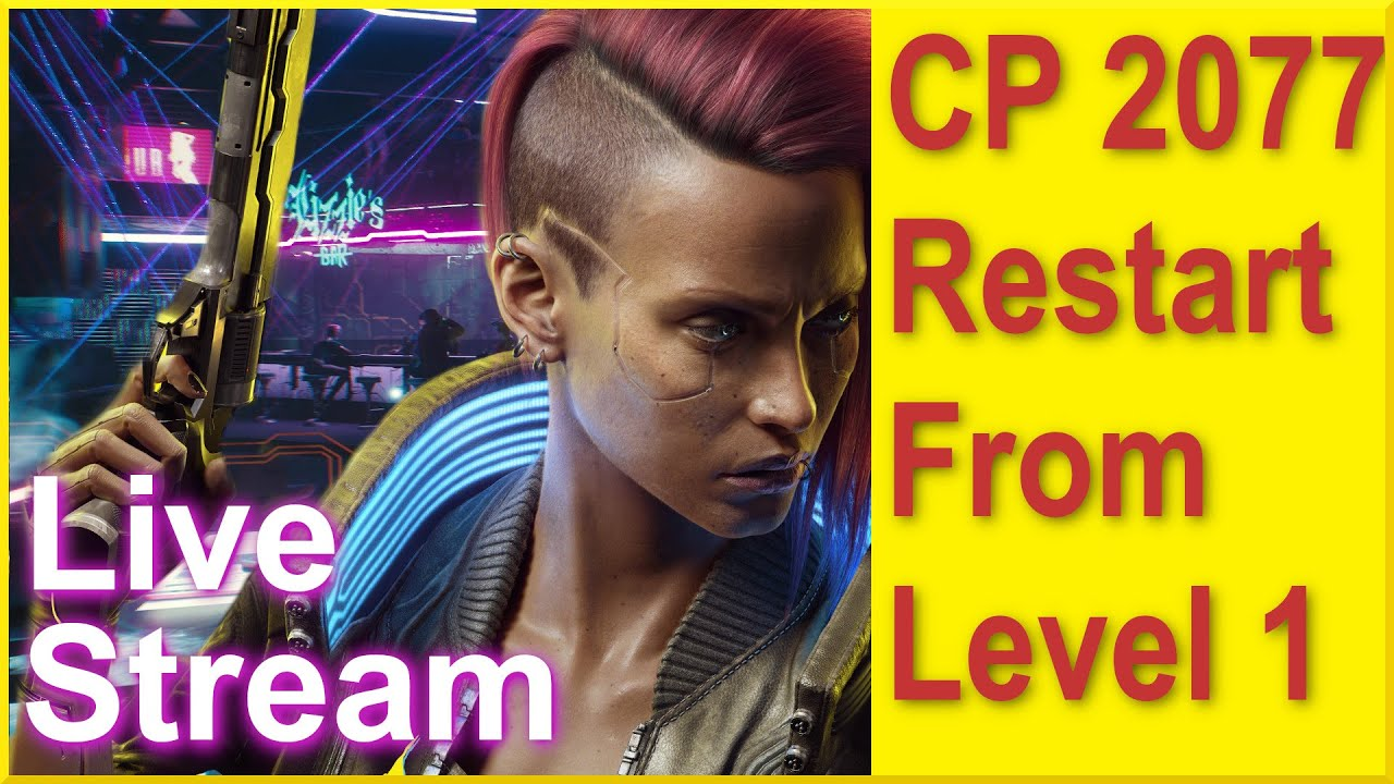 Cyberpunk 2077 - Restart from Level 1 on Very Hard - Stealth Gameplay and Tips included!