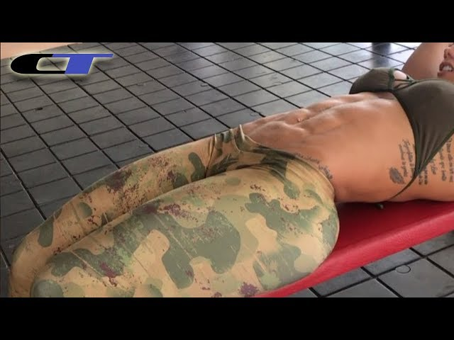 SONIA ISAZA ► Treino abdominal para ganhar gominhos na barriga
