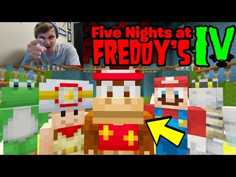 I QUIT YOUTUBE! [ANGRY RAGE!] - Mario Five Nights at Freddy's - (Minecraft Switch) thumbnail
