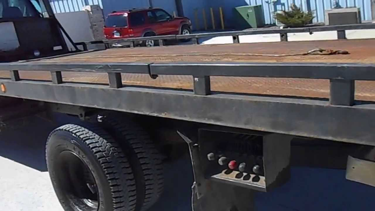 Tow Truck Bed Rails