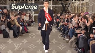 OHKAY : RUNWAY RUNDOWN SUPREME x LOUIS VUITTON FW17