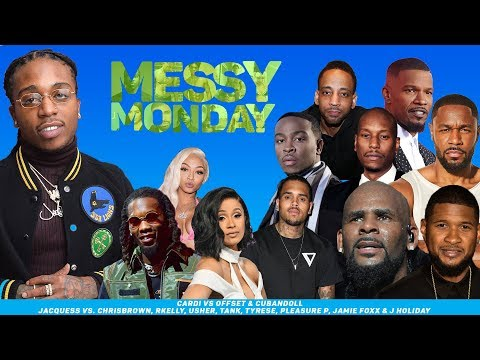 DRAMA ALERT! ! ! Jacquees King Of RNB?, CardiB Divorce Offset & More |MessyMonday