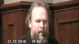 Discurso de Don Sergiy Prosandeev Parroco de Iglesia Ortodoxa de Valenciaa 1 de 2