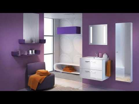 ★ TOP 40 ★ Purple Bathroom Decorating Ideas Pictures