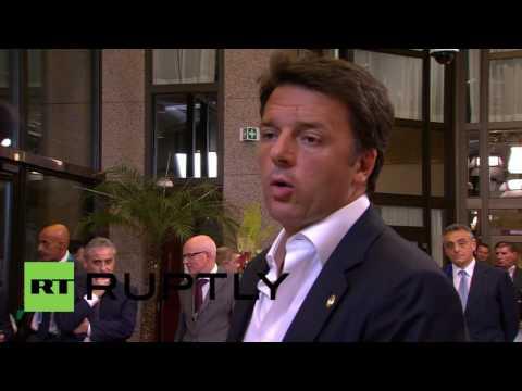 Belgium: European leaders offer condolences to Turkey following attack