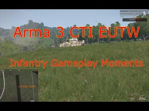Arma III CTI on EUTW Servers Montage