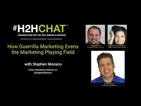 How Guerrilla Marketing Evens the Marketing Playing Field with Stephen Monaco