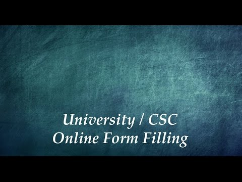 Step 3 - Filling Online Forms - Chinese Government Scholarship - In English