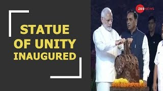 Watch: Prime Minister Narendra Modi dedicating the world's tallest statue to the nation