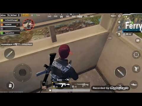 PubG Mobile game | It's not easy to play, it depends on the mood and the courage | killed 2 #8