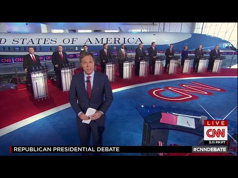 Second Republican Primary Debate - Main Debate - September 16 2015 on CNN