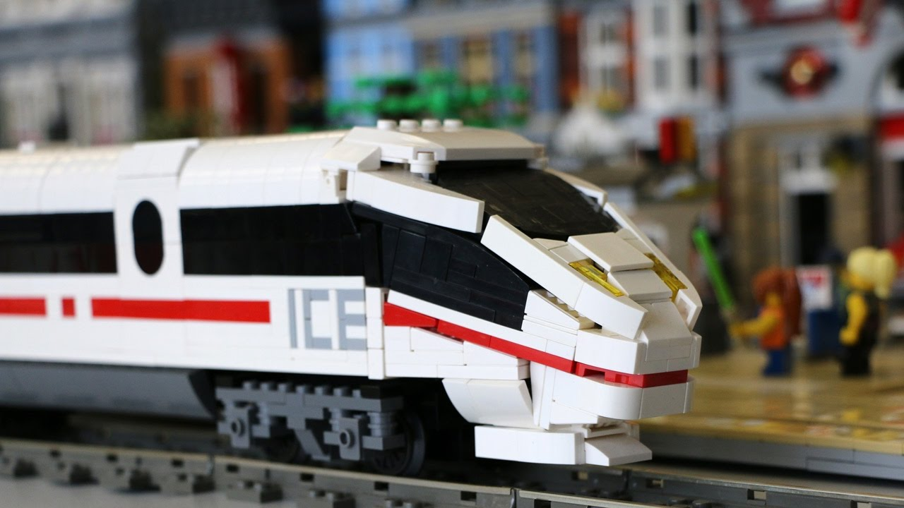 LEGO MOC  ICE 3   Ukonio City Layout   YouTube