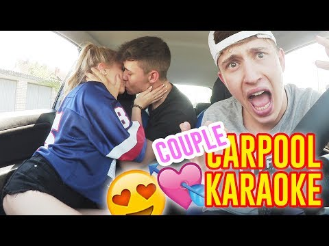 Das SÜßESTE COUPLE CARPOOL KARAOKE VIDEO EVER.. 😍💏 | Mit Payton & Leon Ga
