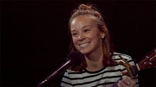 broadway unplugged waitress caitlin houlahan sings an acoustic when he sees me by sara bareilles
