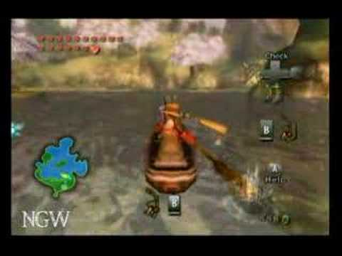 Zelda Twilight Princess - More Hearts - Fishing Hole | WikiGameGuides