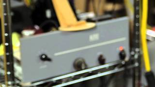 Marantz 10B tube stereo tuner from 1965 live test