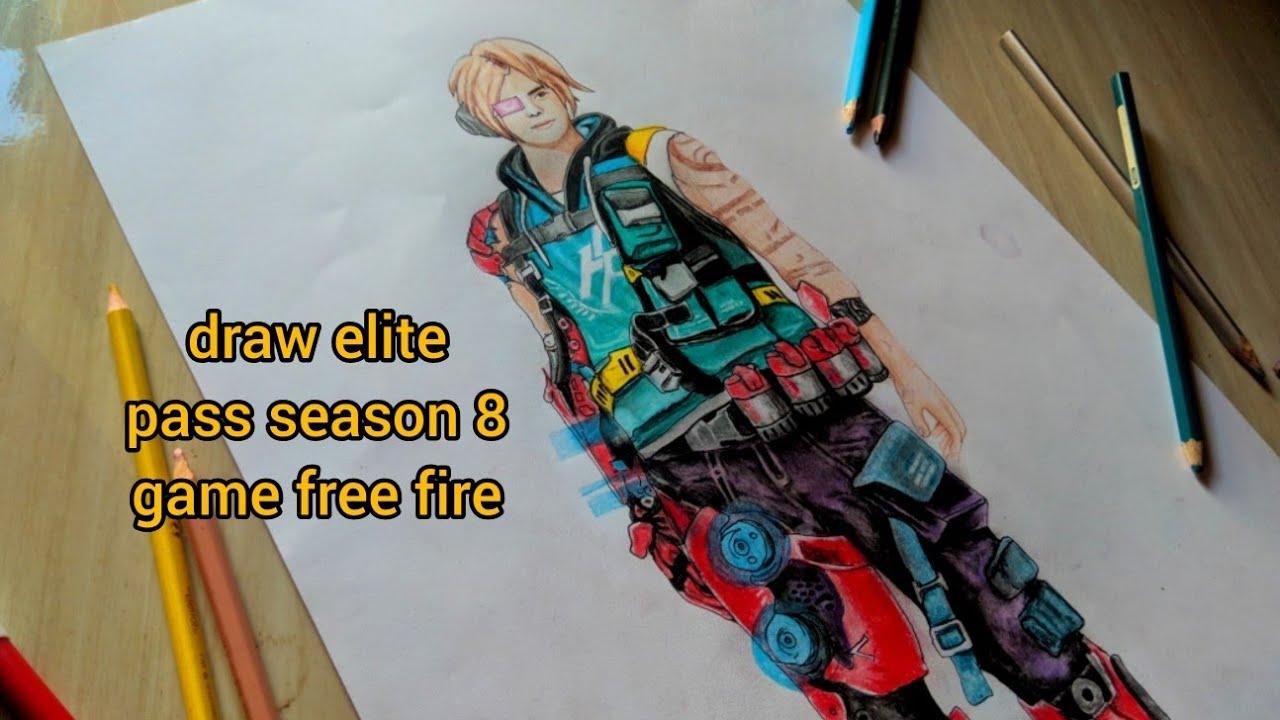 Gambar Elite Pass Season 8 Gambar Free Fire Youtube
