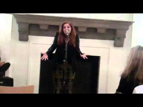 """With Him"" Live Performance By Hannah Hershman"