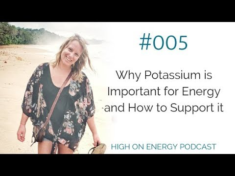 Why Potassium Is Important For Energy And How To Support It